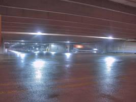 Parking Garage HDR by vidthekid