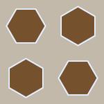 Grid of Hexagons I by vidthekid