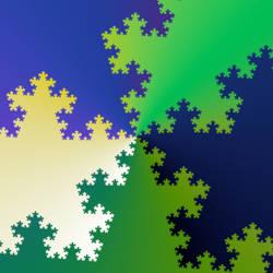 Interlocking Star Fractals by vidthekid
