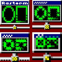 Rasterm Icon by vidthekid