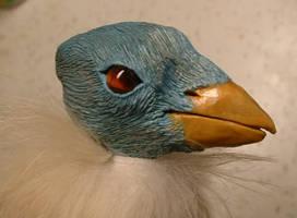 Blue - Detail Head by bleaknimue