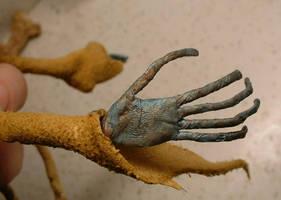 Blue - Hand Detail by bleaknimue