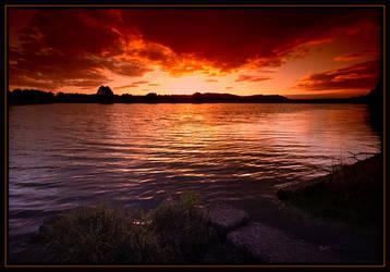 In the Evening by gordonrae