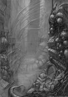 Ruins in the Deep by Carpet-Crawler