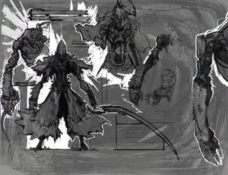 Wraith - Status Screen Rough Concept by Carpet-Crawler