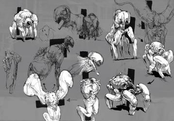 Enemies brainstorm! by Carpet-Crawler