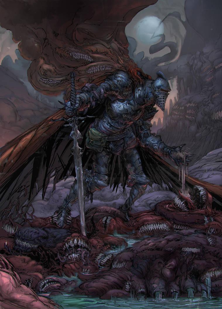 Gluttony Knight by Carpet-Crawler