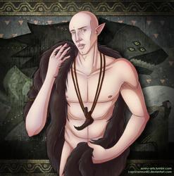 DA:I - Solas in furs Ver. 2 by CapricornSun83