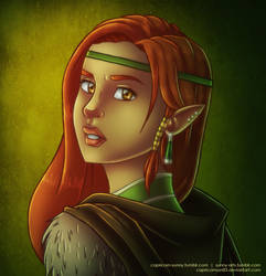 DnD: Leena Tornala by CapricornSun83