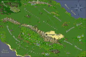 Map: Alarania by Acuru
