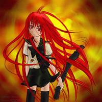 A Flame Haze Shana by Acuru