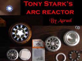 Tony Stark's Arc Reactor by ajb3art