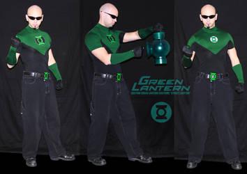 Custom Green Lantern Costume by ajb3art