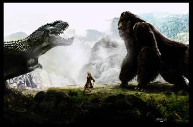 King Kong pintura matte by turkill