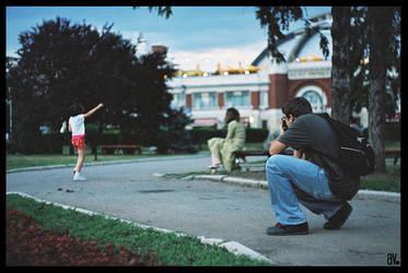 Cristian, the photographer. by ploiesti