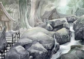 Elven city, part I by Puolukkapiirakka