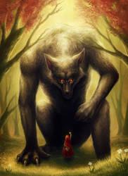 Little Red Riding Hood by JoJoesArt