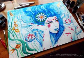 Lady Koi by JoJoesArt