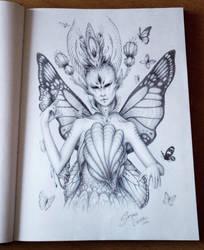 Nature goddess by JoJoesArt
