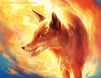 Fire Fox by JoJoesArt