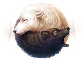 Yin and Yang (+ Youtube Process Video) by JoJoesArt