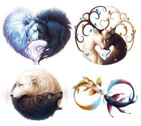 Symbols of Life by JoJoesArt