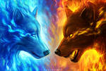 Fire and Ice by JoJoesArt