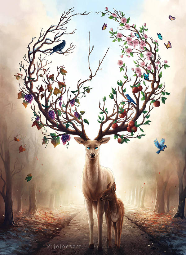 Seasons Change by JoJoesArt