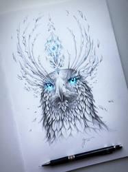 Eagle Soul by JoJoesArt