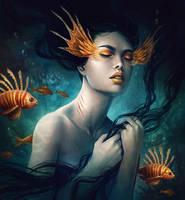 Ocean Within by JoJoesArt
