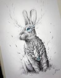 Rabbit Soul by JoJoesArt