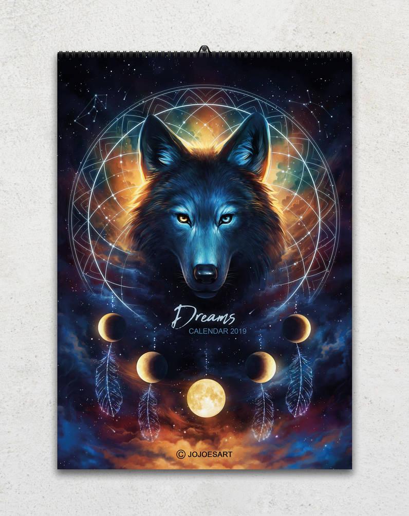 2019 Calendar -Dreams- by JoJoesArt