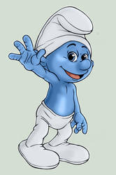 Smurf Movie Style by AliceSacco