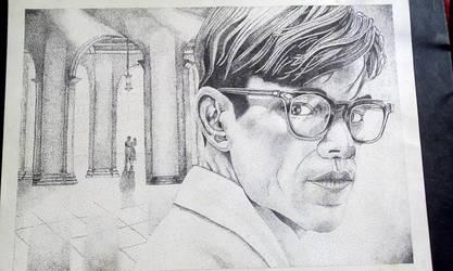 Mr Ripley stippling by art-devi
