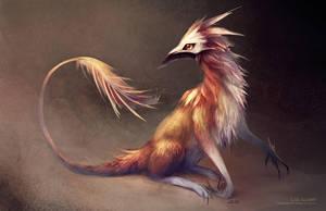Masked Mammalian Creature by Landylachs
