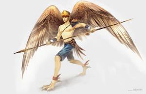 Hawkman by Landylachs