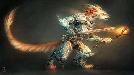 Charr Guardian by Landylachs