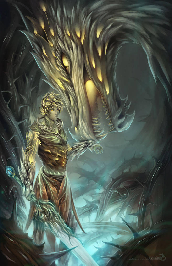 Trahearne and the Jungle Dragon by Landylachs