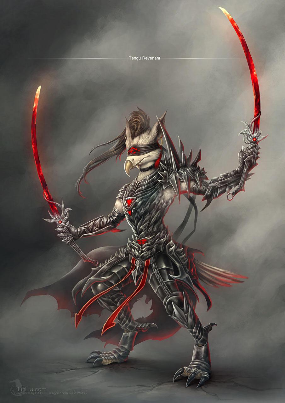 Tengu Revenant by Landylachs