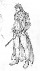 APB Sketches 30 - Machete by arnistotle