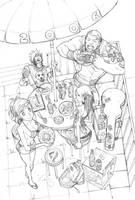 2006 UDON sketchbook cover by arnistotle