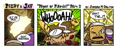 PBNJ: Paper or Plastic? Pt2 by DangerPins