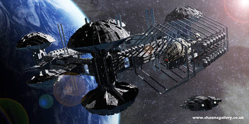 Horizon Station - Earth Orbital 5 by madaboutgames