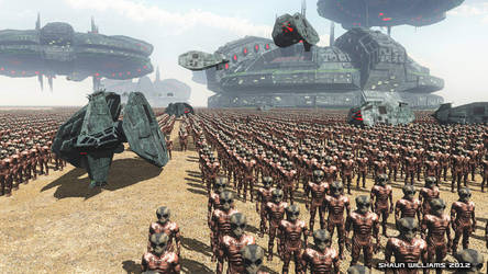 Krahh Invasion by madaboutgames