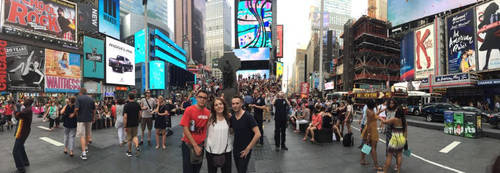 times Square Panormica by VictorAM
