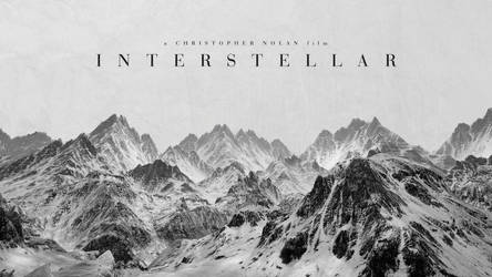 Interstellar Wallpaper 1 (Black and White) by ruffsnap