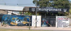 TRANSFORMERS AUTO SHOP by arceeenergon