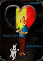 Pray For Brussels by Nata19i97