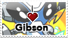 I :heart: Gibson Stamp by II-Art