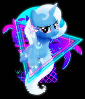 Synthwave Trixie by II-Art